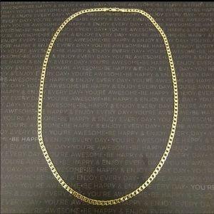 Jewelry - 🎄🛍NWOT 14k GOLD FIGARO CHAIN UNISEX